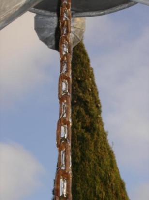 Gelée sur la sculpture
