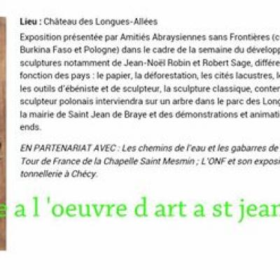 article Mairie expo bois