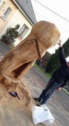 Le Lion et son createur !
