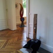 sculptures éclairées