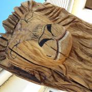 la tete du lion apparait